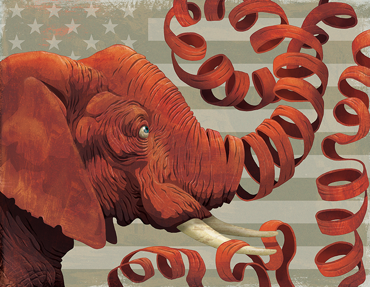 GOP Unravelling?